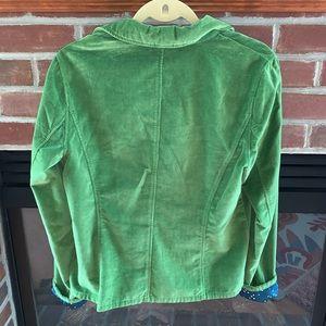 Sundance Jackets & Coats - Sundance Green Velvet Blazer Size 8